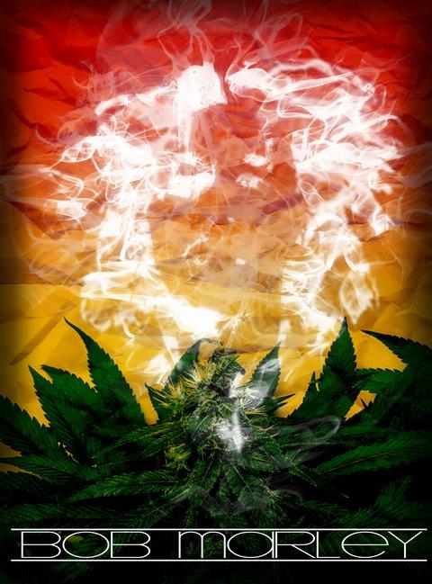 Marley Smoke Flag