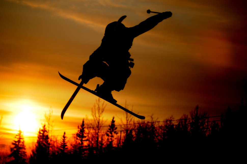 CAL sunset AK