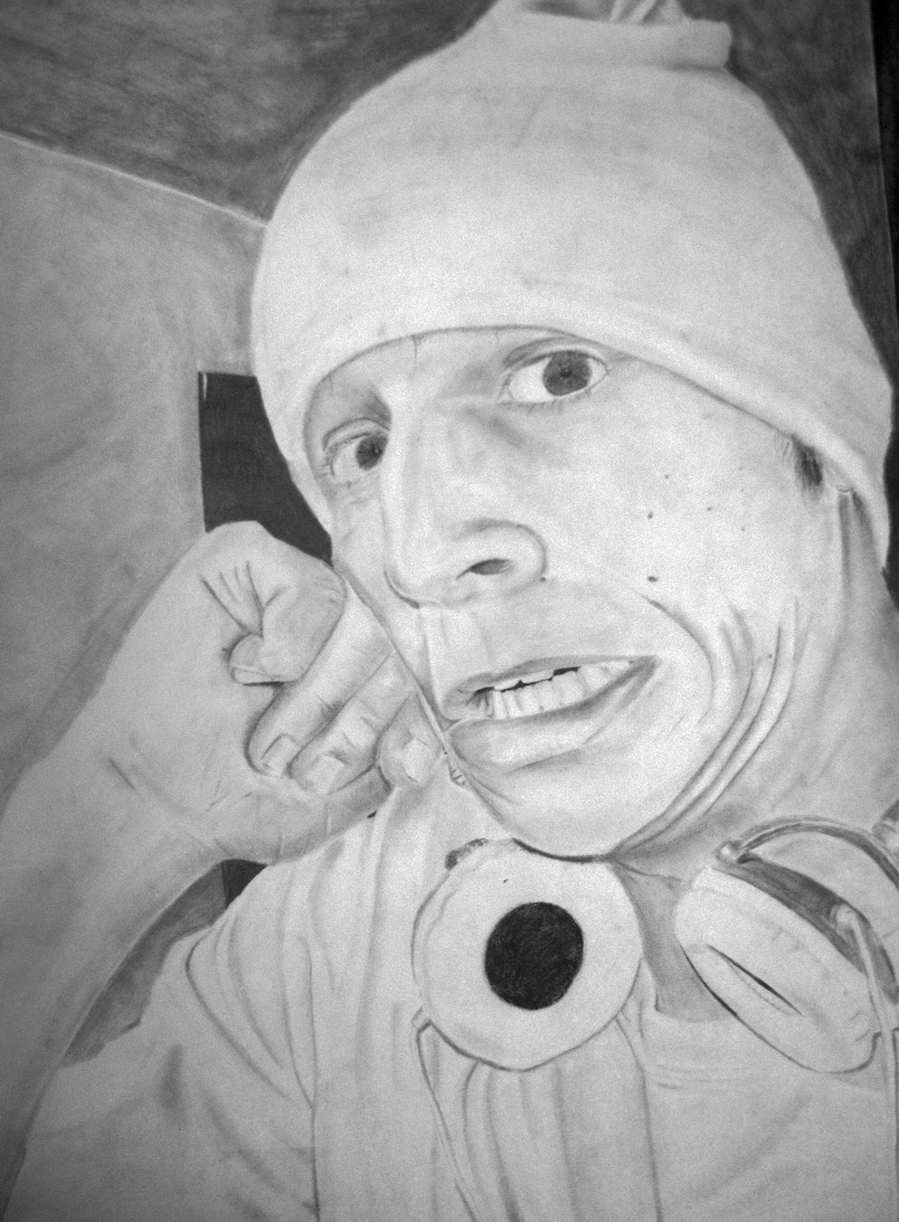 Final self portrait for drawing class