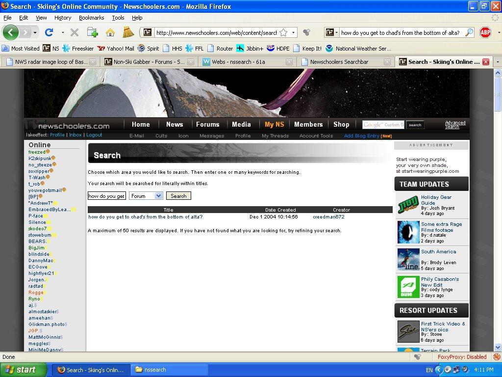 NS Searchbar Plugin