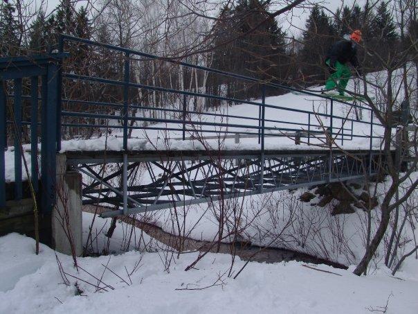 My backyard rail