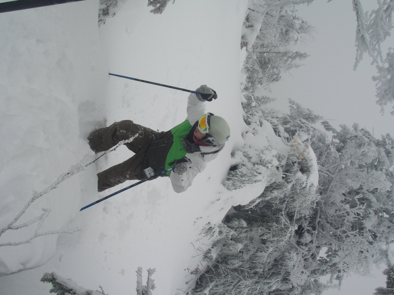 Better pow day than newschoolers takeover