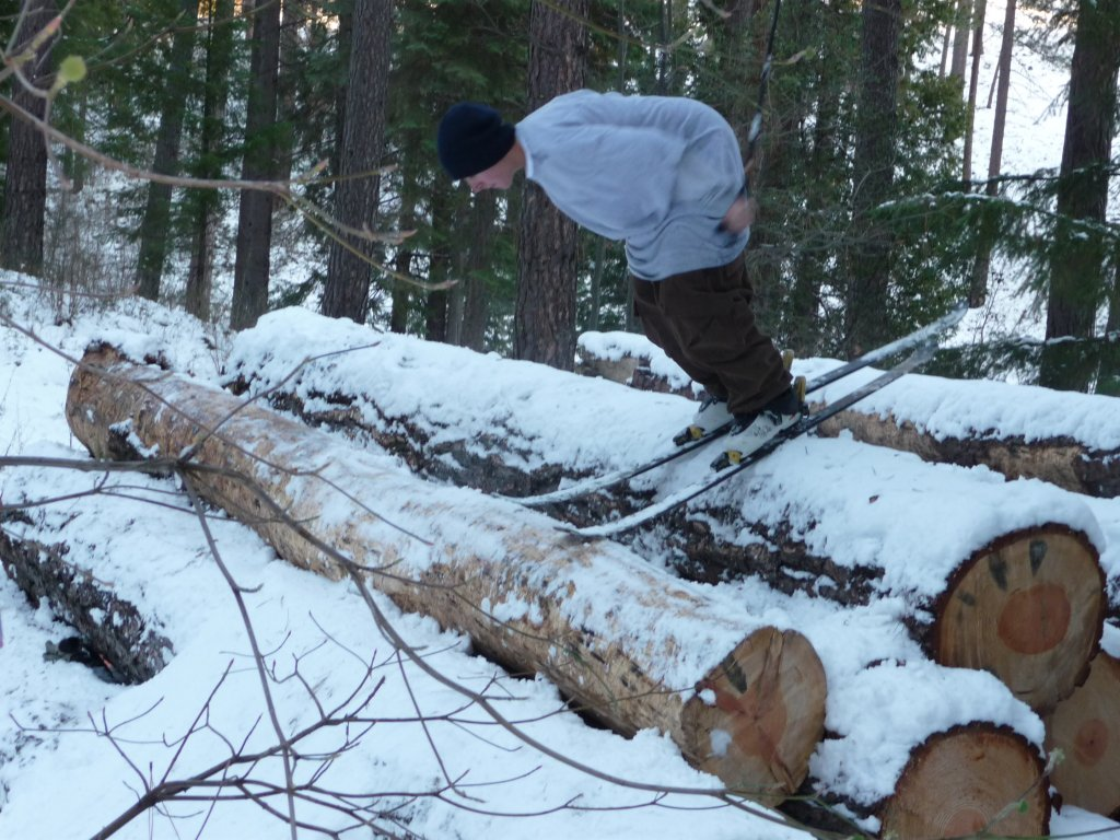Log stallin