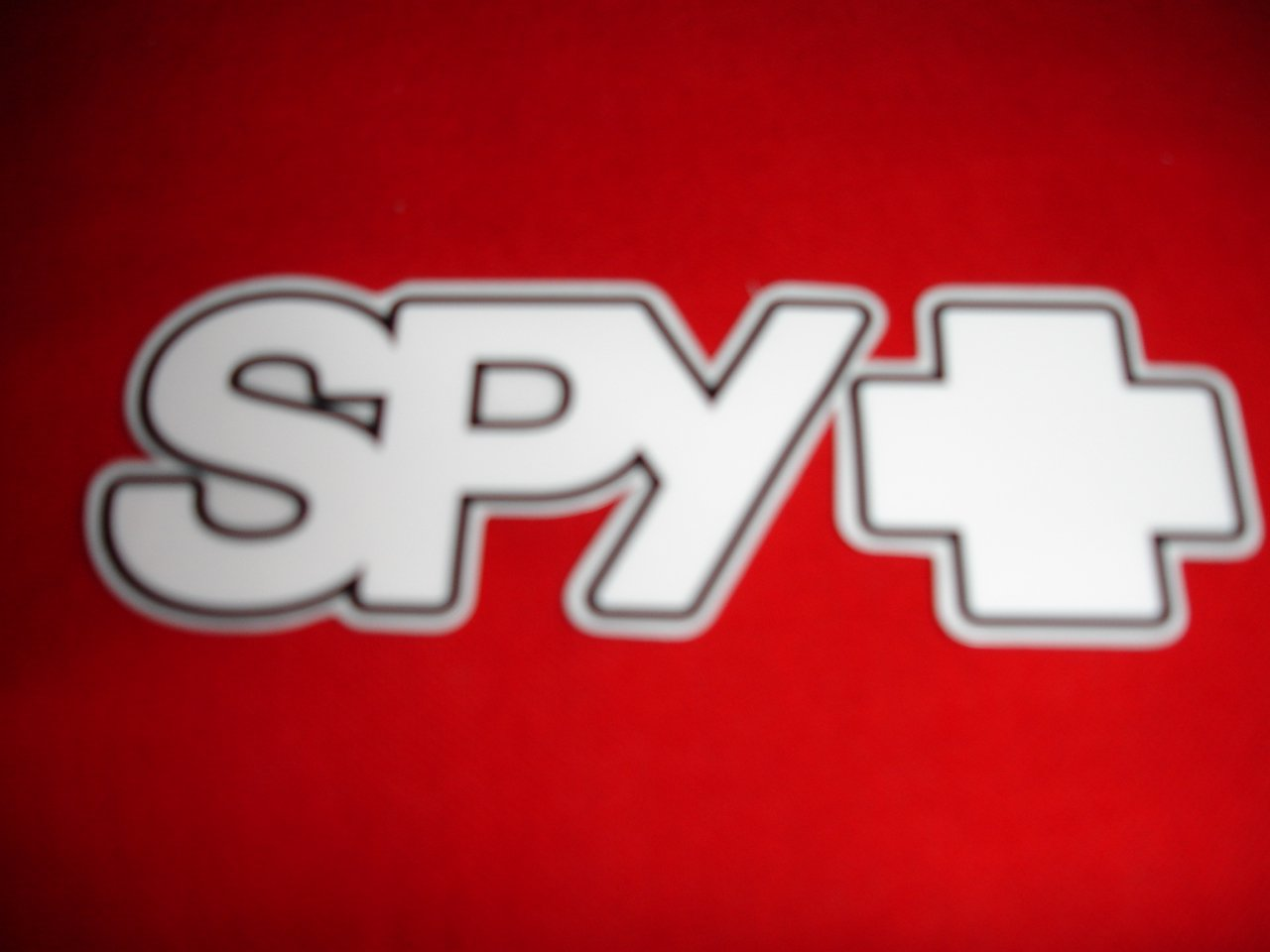 Spy sticker