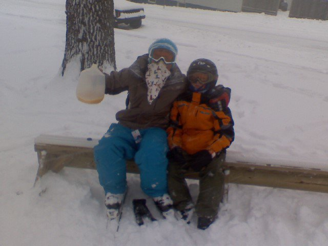 Me and my little brother