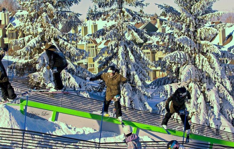 Frozen rail jam