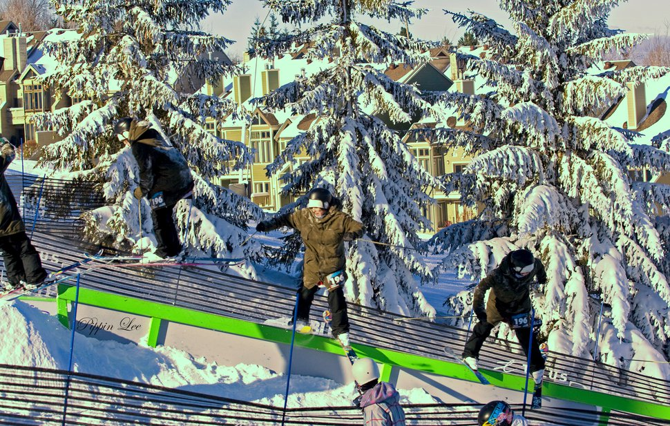 Frozen rail jam