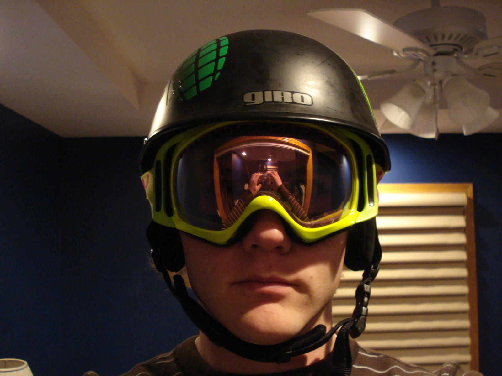 Goggles and Helment