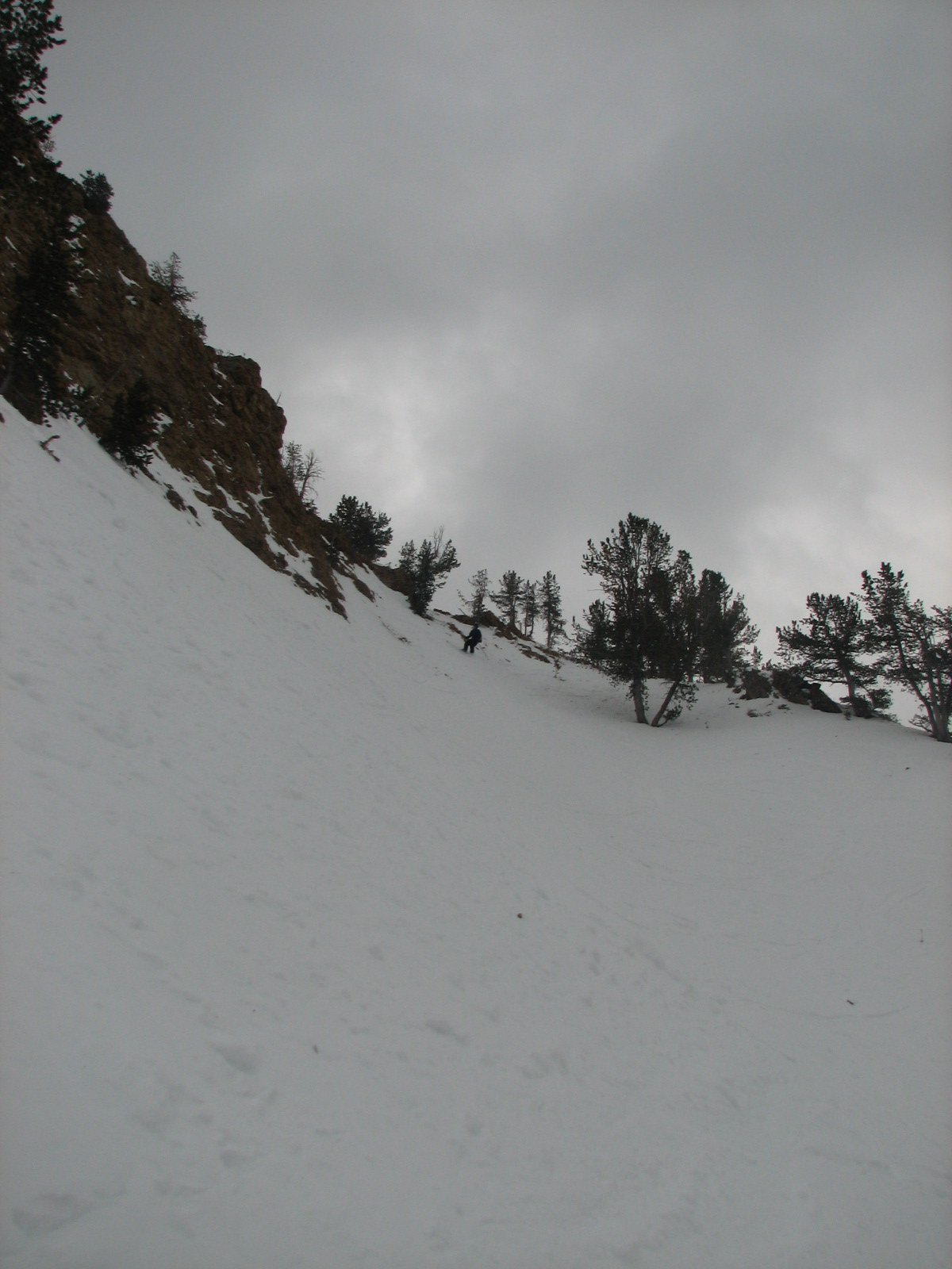 Gully in Beehive Basin