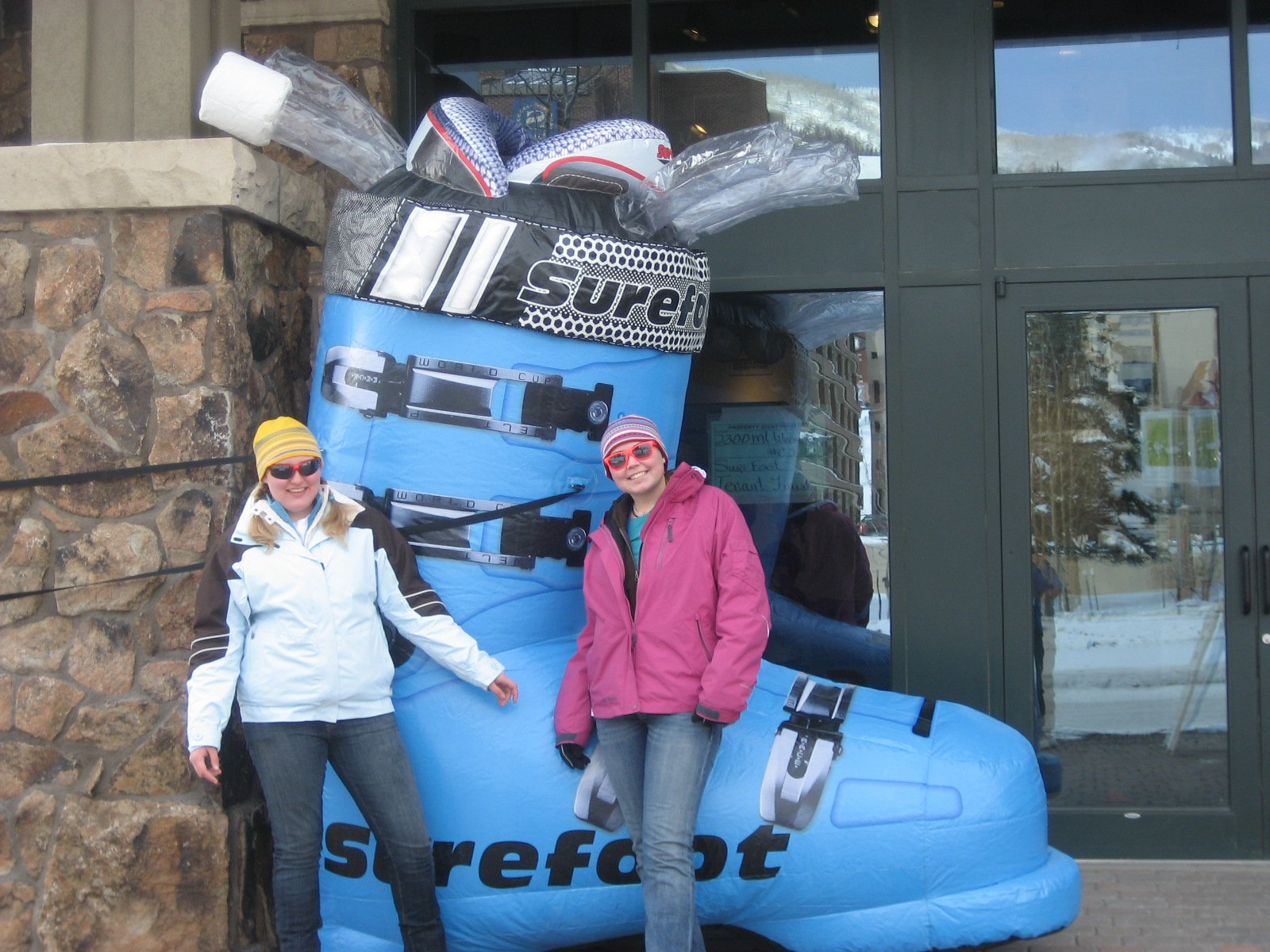 Ski boot