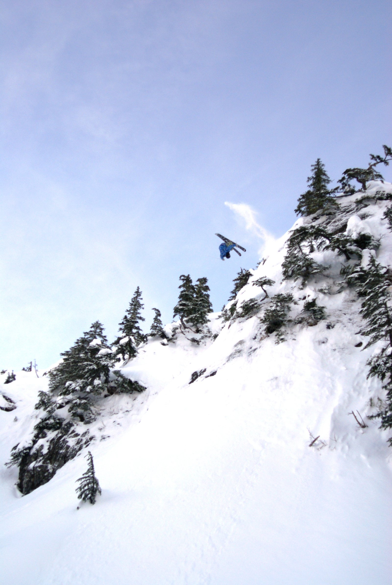 Xmas eve FRONT FLIP! pic 1