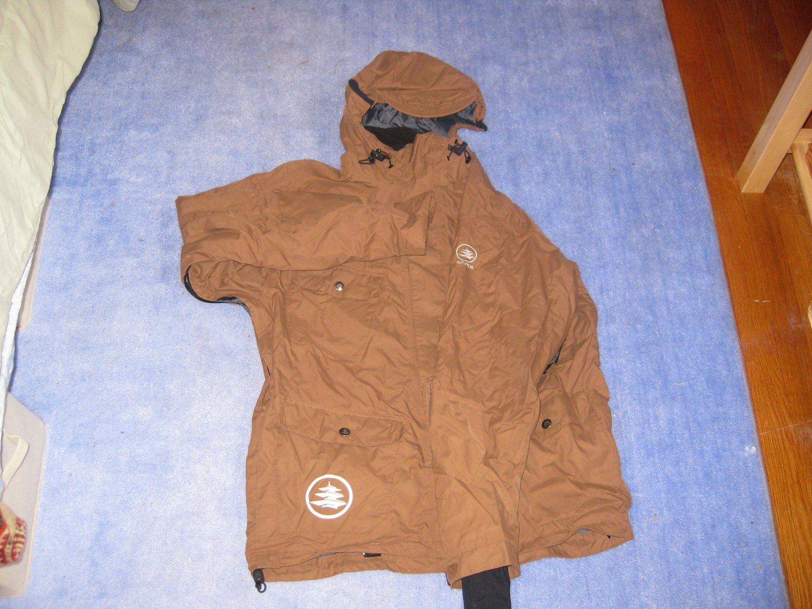 Siver jacket fs