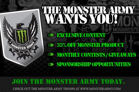 Join The Monter Army