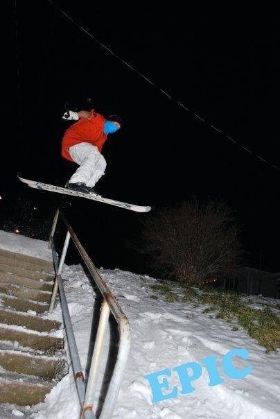 180 over Handrail