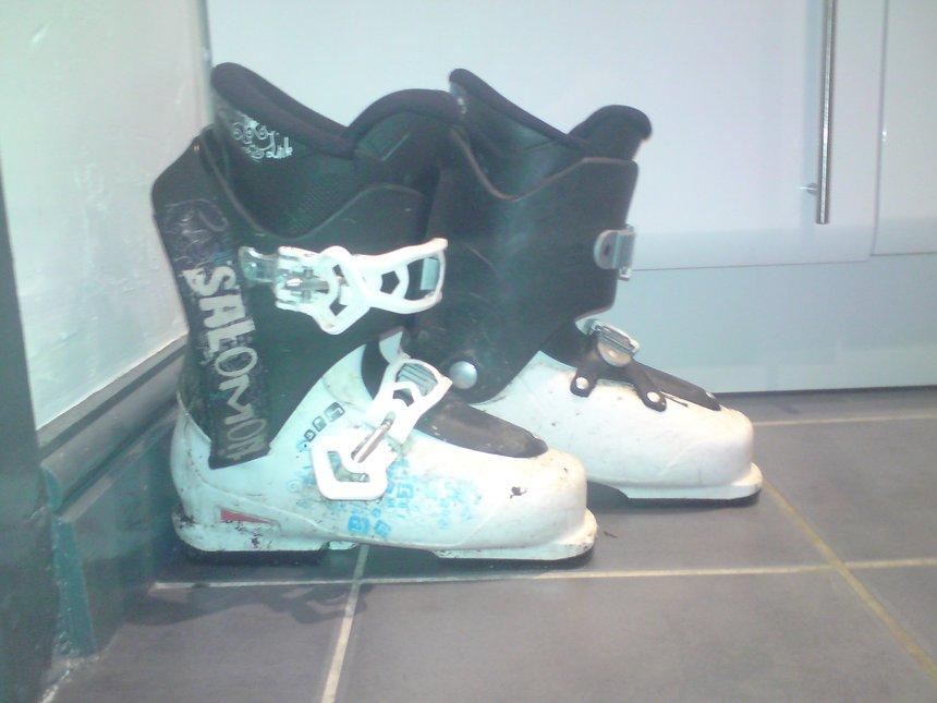 My salomon spk boots