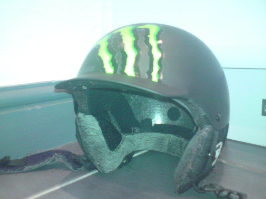 My new salomon brigade audio helmet