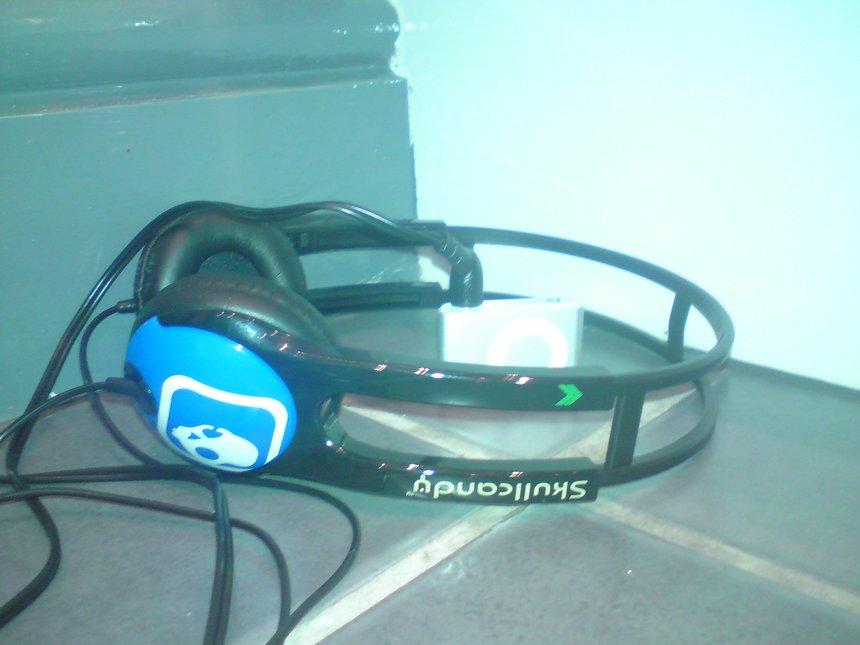 My new skull candy head phones