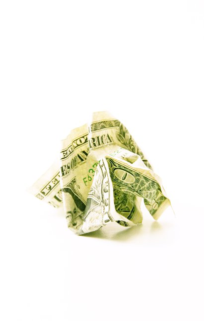 Crumpled Income.