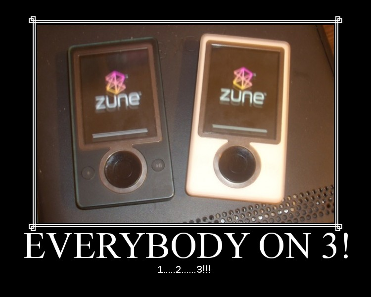 Zunes!