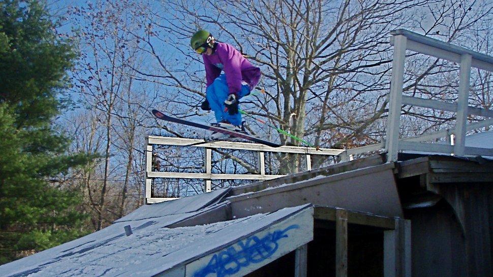 Skatepark jump