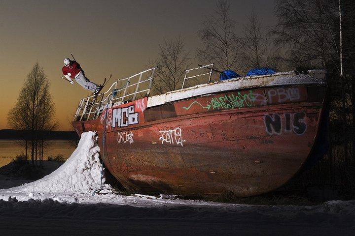 Jake taken the boat