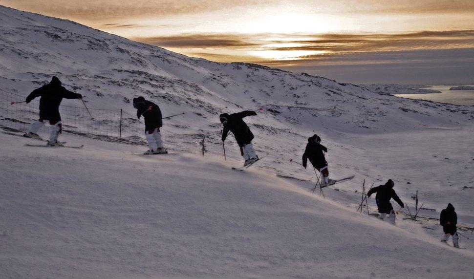 Jibbin' early season Greenland