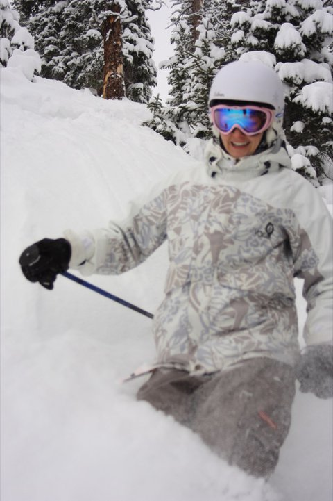 Look at all the powder