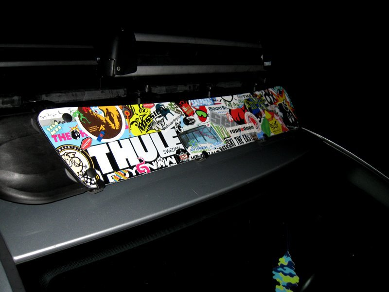 Thule stickers