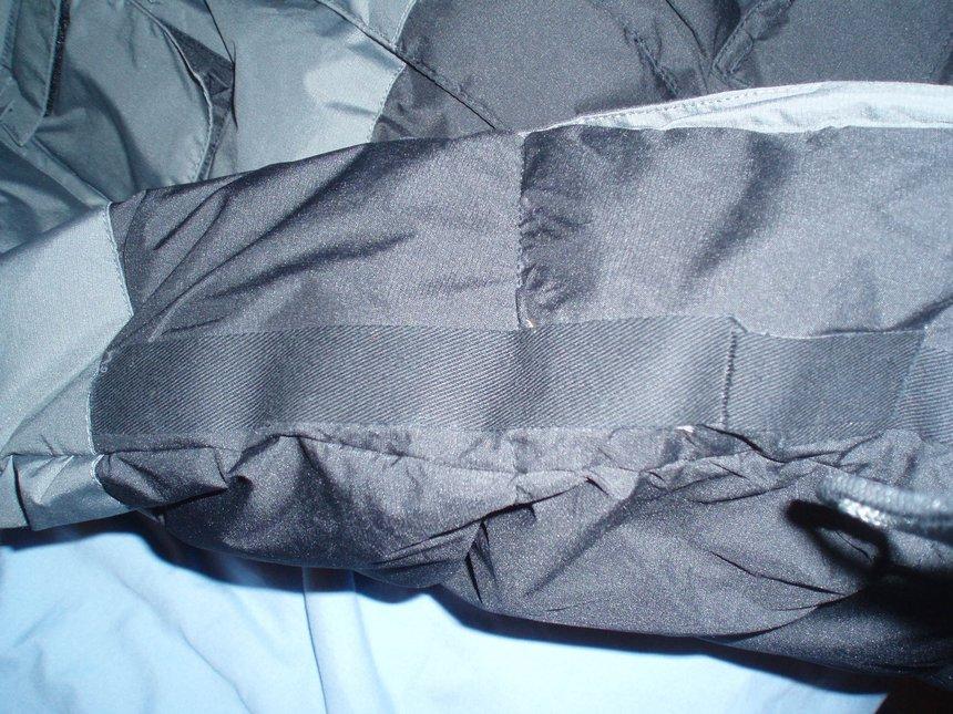 Jacket rip