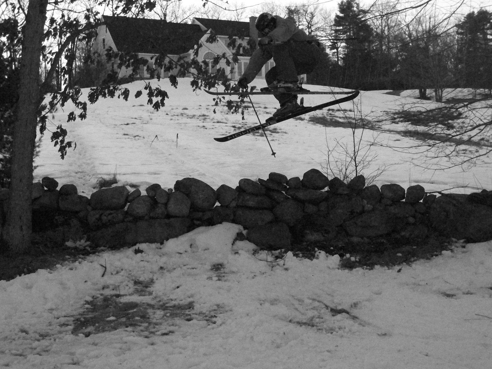 Stone wall jump again