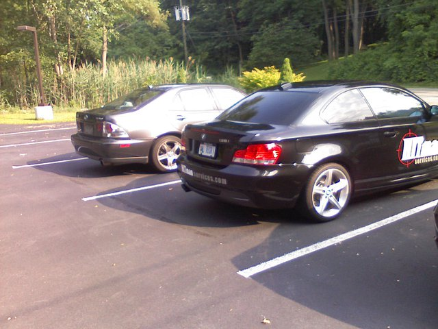 Boss's whip next to mine