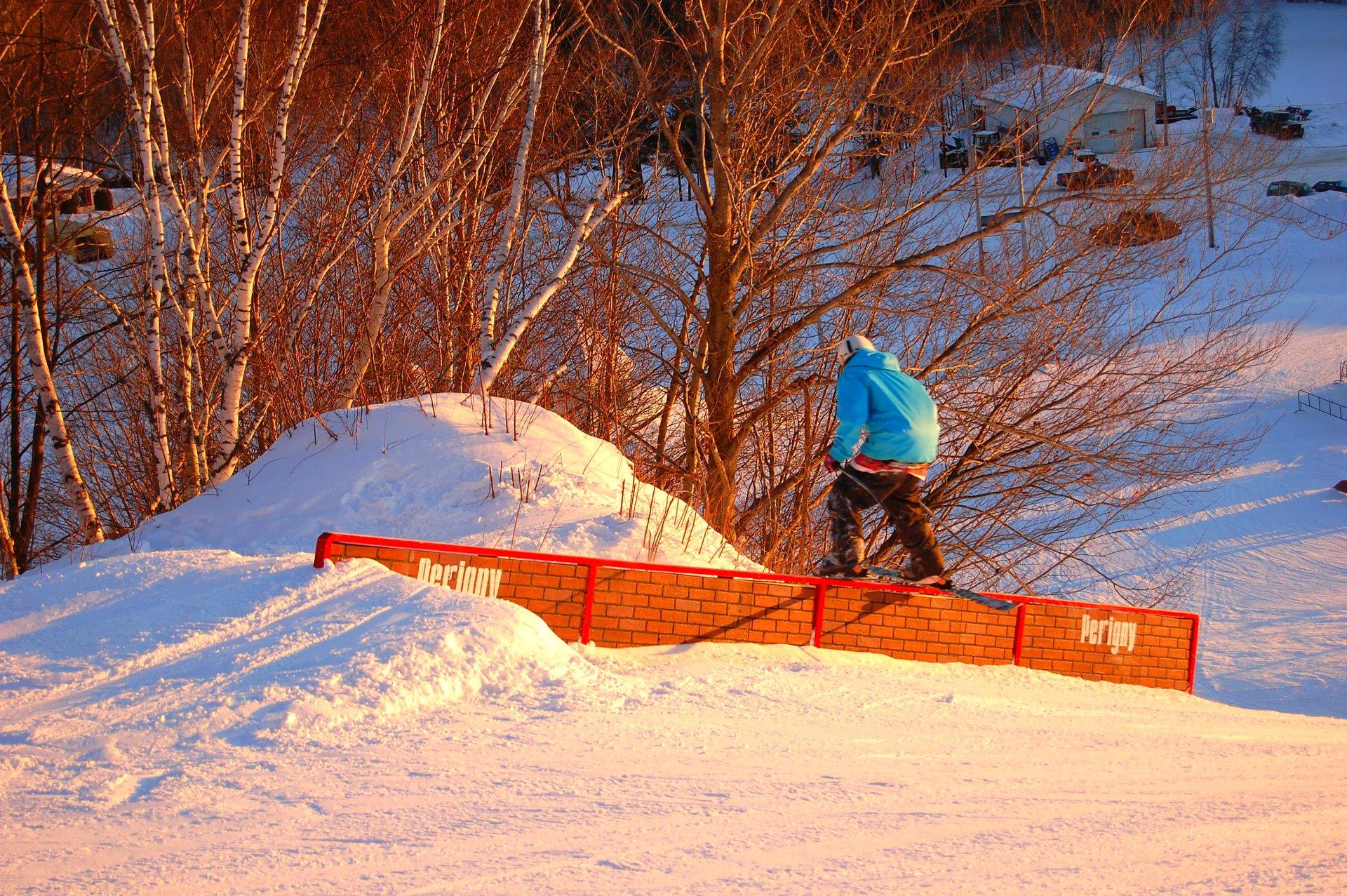 Mont-Carmel down rail
