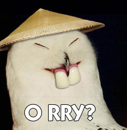 O rry?