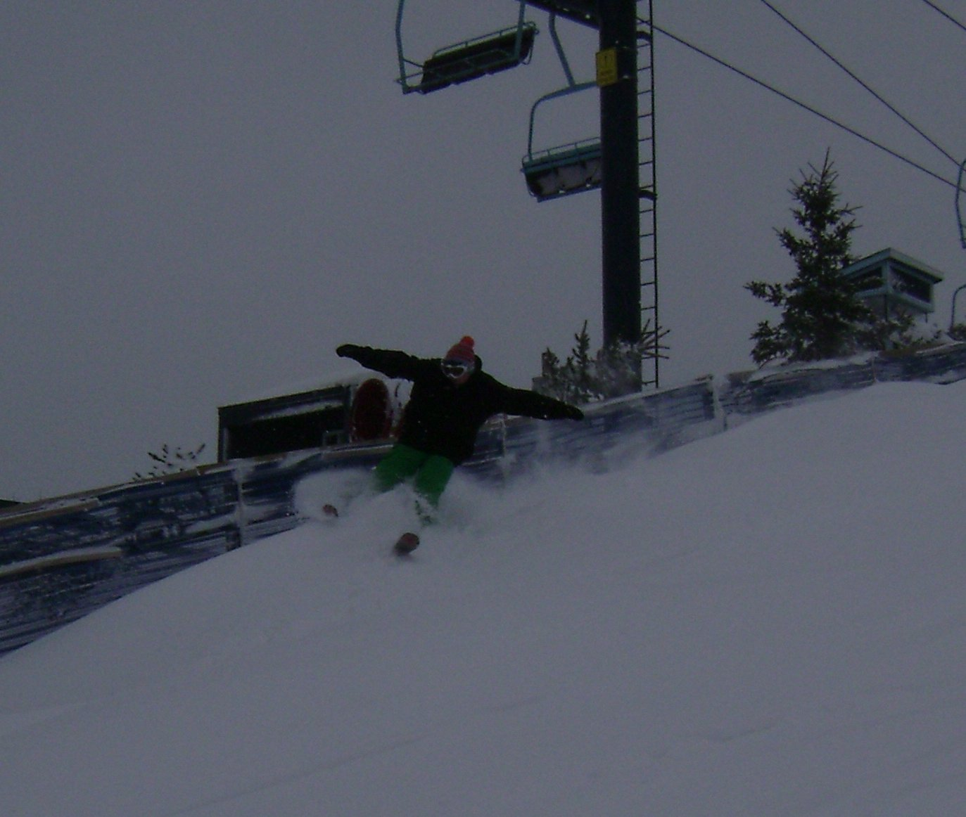 Pow at the Pine