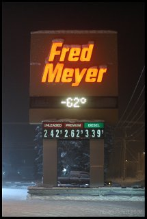 62 below at fred meyer