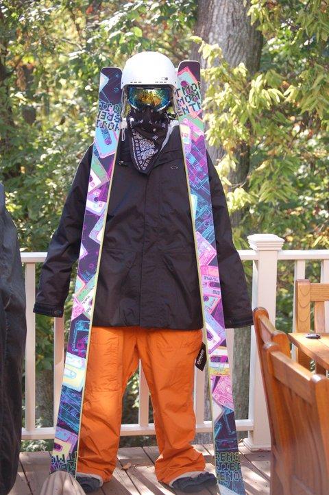 Black oakley crash jacket