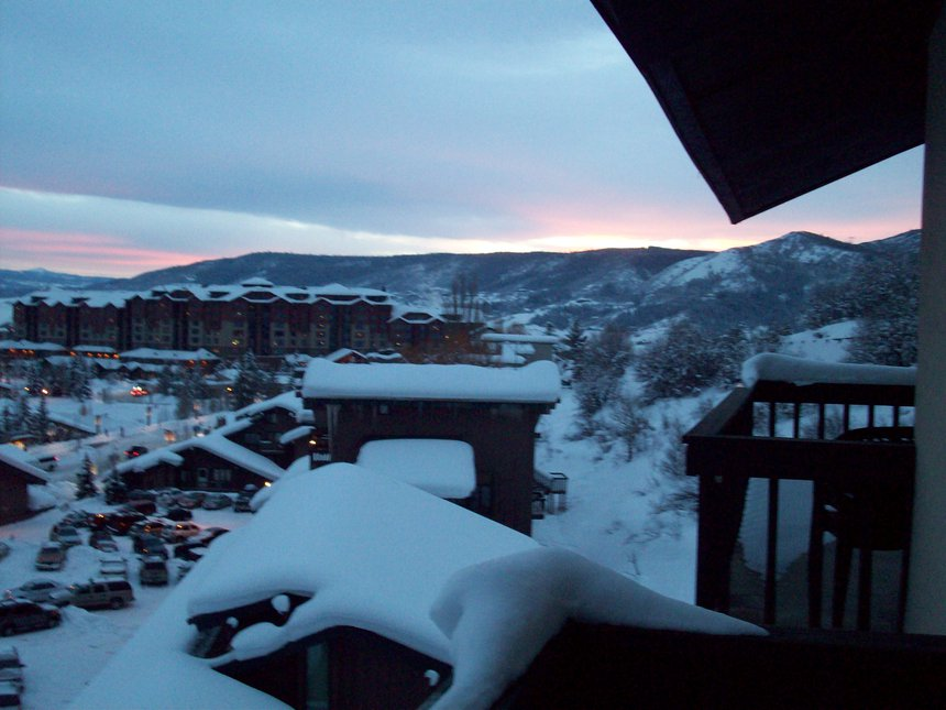 View of steamboat