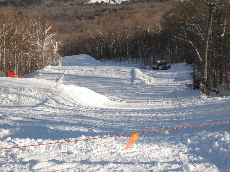 Snow Ctas sculpting Tyro, opening soon!