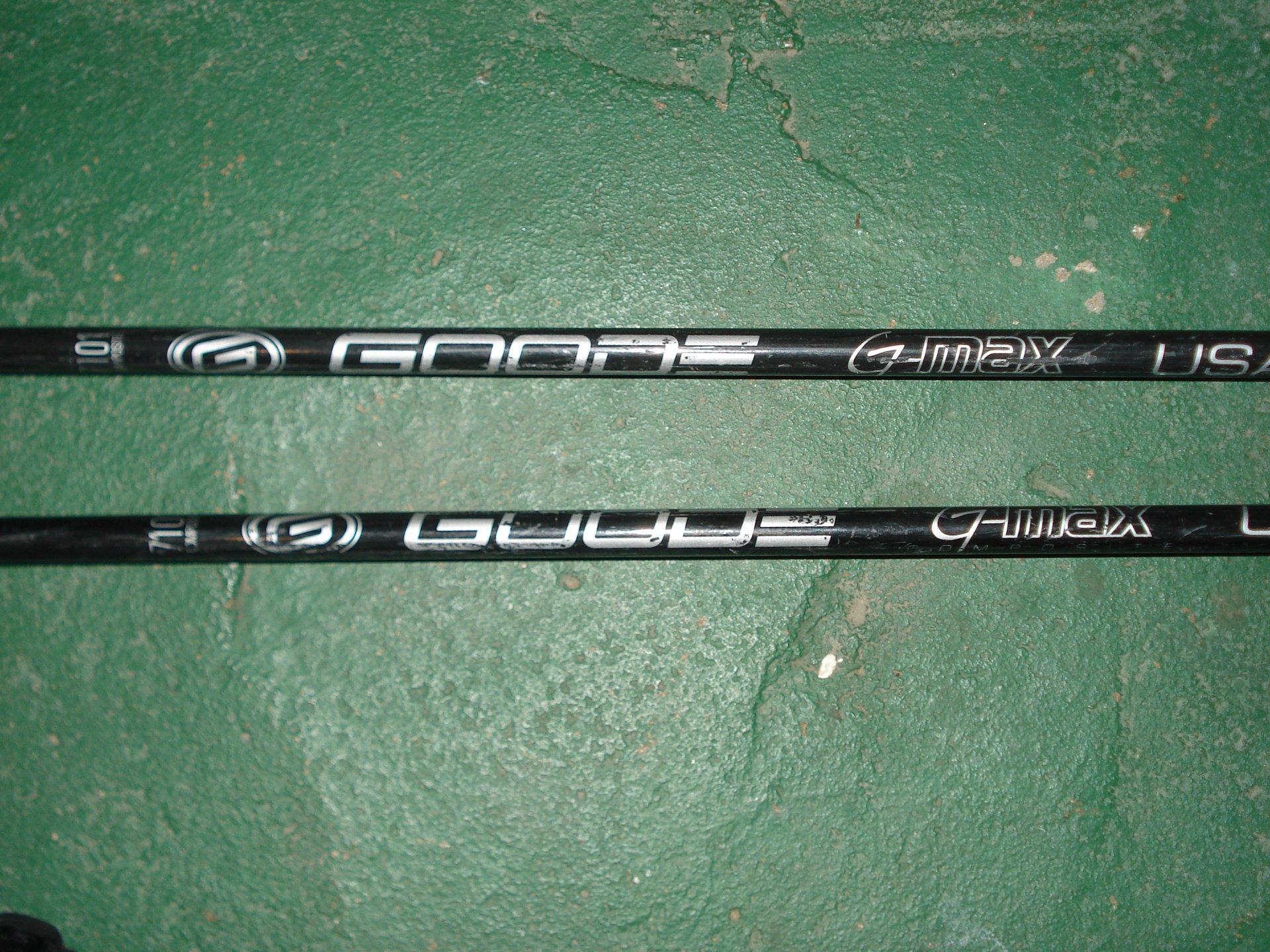 46 inch Goode Composite G-Max Pole