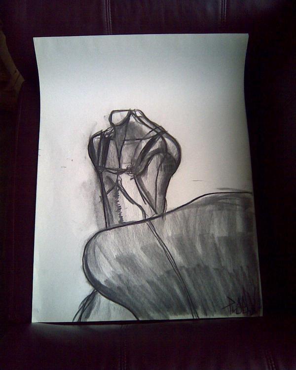 Manequin gesture drawing