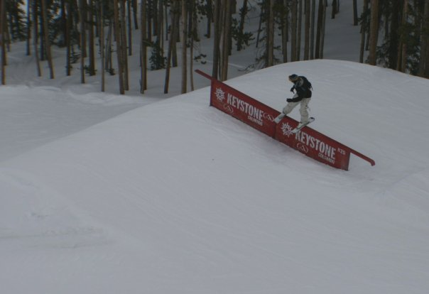 Keystone double barrel up rail