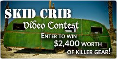 Cloudveil Skid Crib Video Contest. Enter to Win!!!!!