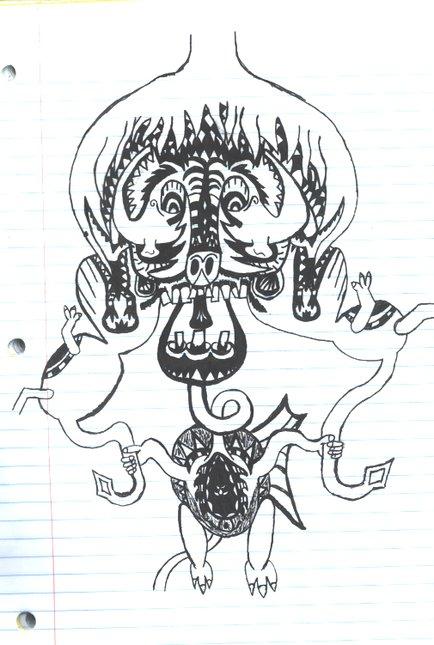 Monster dude