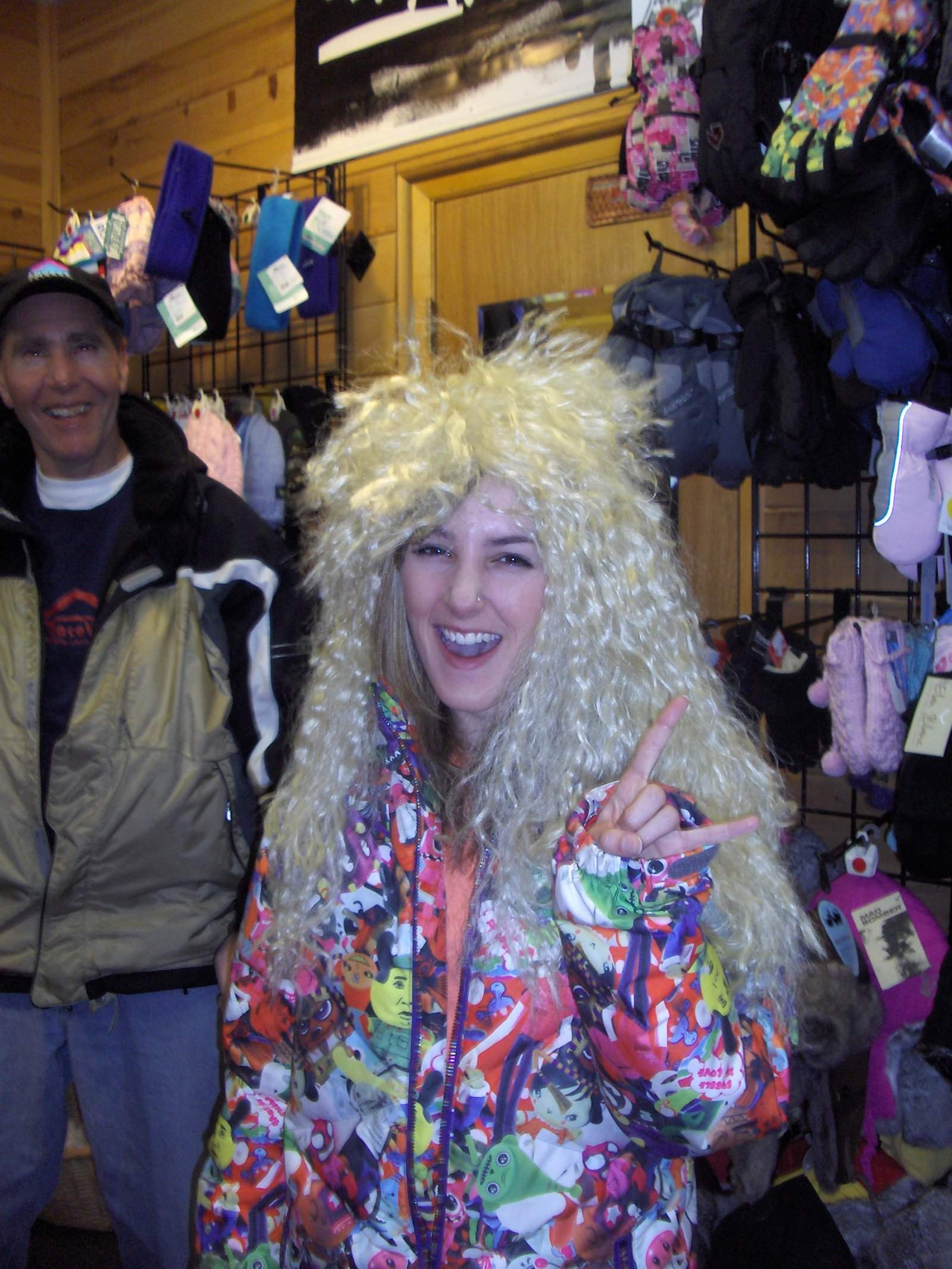 Breck hat store, 3rd year in a row