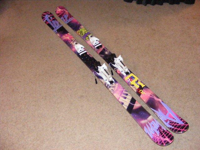 My new skiis