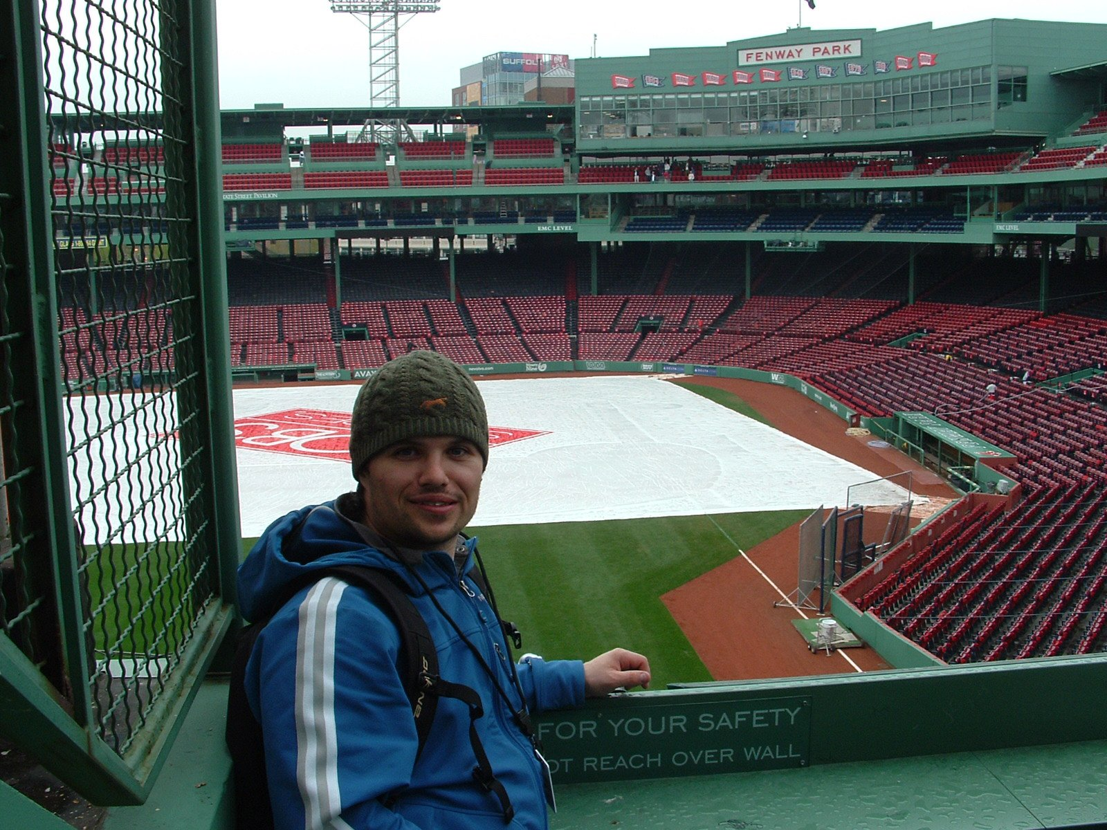 Max at Green Monster