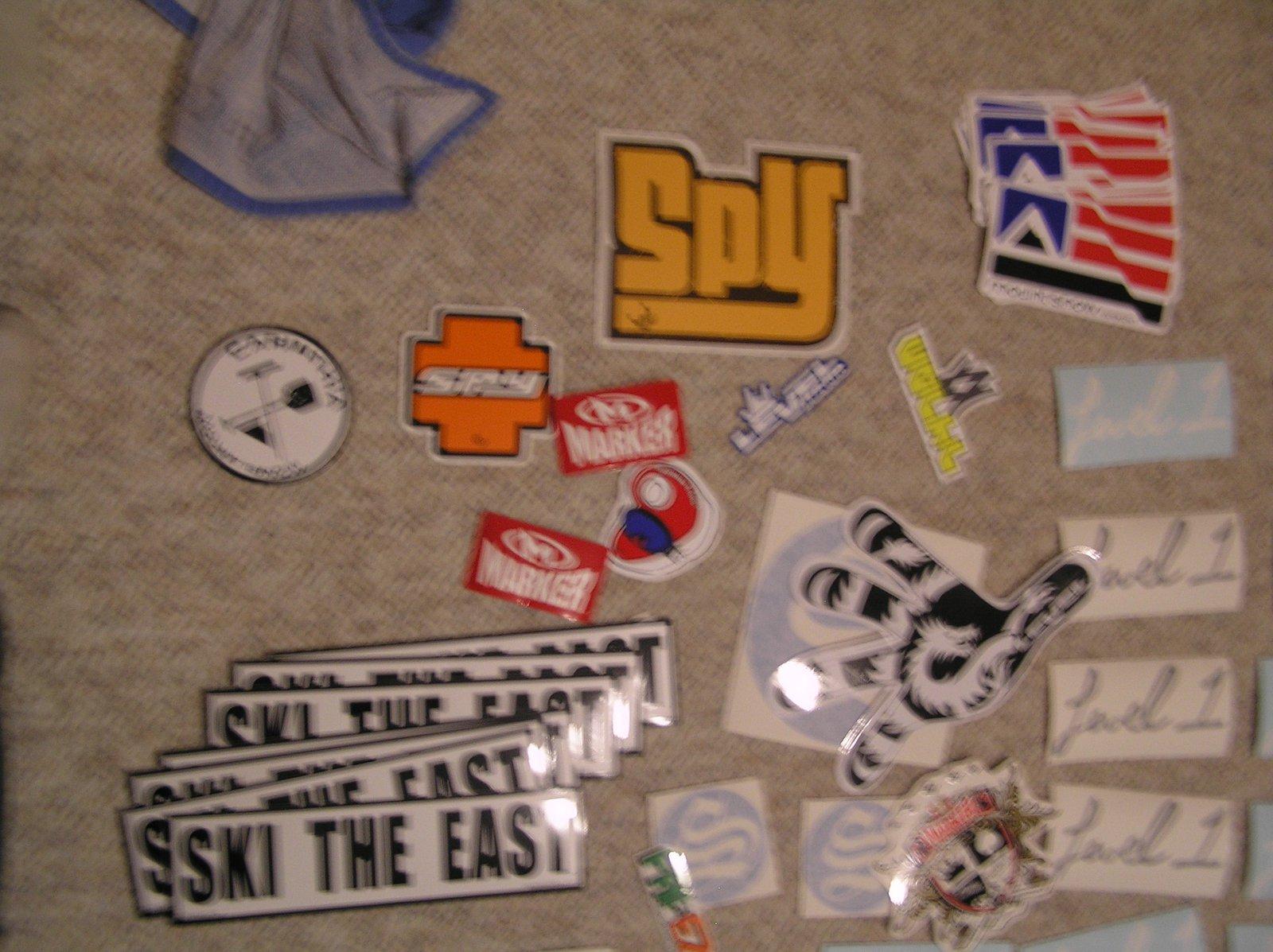 HUGE spy sticker w/ friends