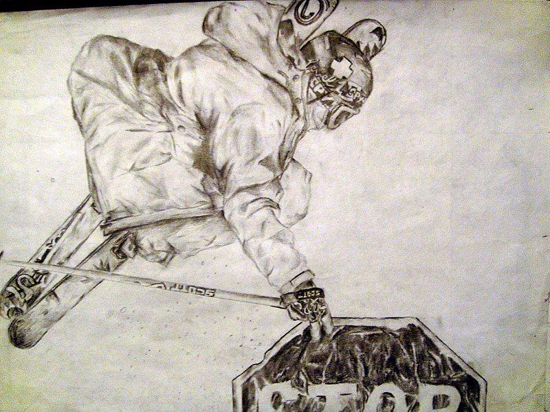 Mike Clarke Sketch