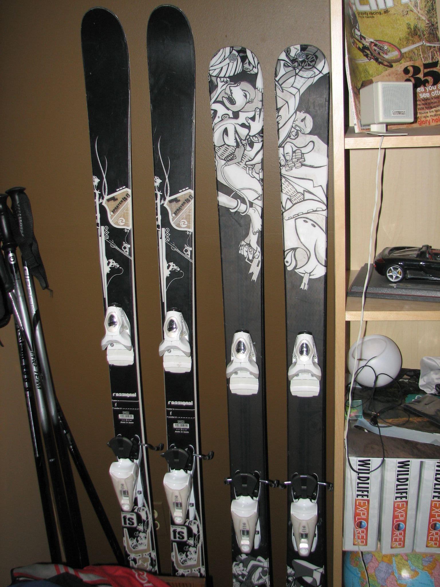 Ski top sheets
