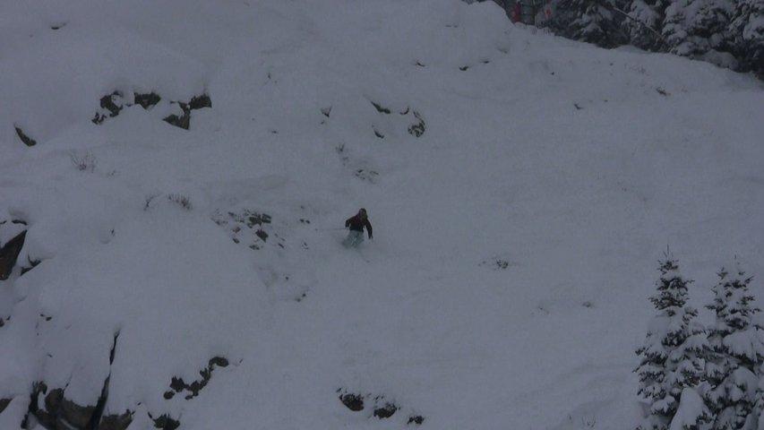 Steep Line at J-Hole